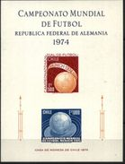 CHILE, 1974, WORLD SOCCER CHAMPIONSHIP, YV#B.19, SS, MNH - Coppa Del Mondo