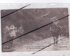 Un Bataillon De Zouaves Qui Revient Du Feu...Au Front De BUVAL(62) Et Du Bois Carré.Guerre 1914(Carte Photo De Nos Bois) - Guerre 1914-18