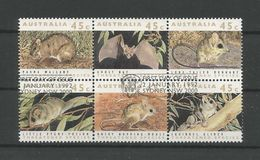 Australia 1992 Endangered Animals 6-block Y.T. 1236/1241 (0) - Used Stamps