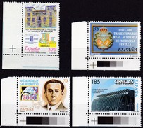 2000, Spanien, 3541/44, Wissenschaft, MNH ** - 1931-Hoy: 2ª República - ... Juan Carlos I