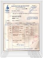 40 106 TOSSE LANDES 1958 Manufacture De Bouchon CHARLES DUVICQ ET FILS Arme QUI VEUT PEUT Commande Mr ALLIAS ˆ BLACHER - France