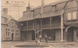 Cpa 1930 St Quentin - Ciney. Vue Animée. Enseignements Et Exploitations Agricoles Provinciaux. Nels - Ciney