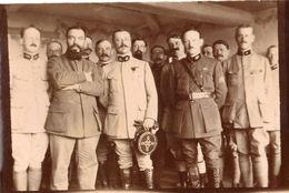 PHOTO FRANÇAISE - HÔPITAL MILITAIRE TEMPORAIRE Nr. 31 A CHATEAU THIERRY PRES DE DORMANS AISNE - LES MEDECINS 1917 - 1918 - 1914-18