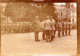PHOTO FRANÇAISE - CHATEAU THIERRY PRES DE DORMANS AISNE - REMISE DE LA LEGION D'HONNEUR AU DOCTEUR GIRY 1917 - 1918 - 1914-18