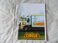 Catalogue Modèles Réduits Du Cirque Pinder - Other
