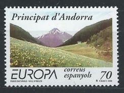 Andorre Espagnol YT 257 XX/MNH Europa - Neufs