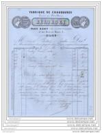 21 100 DIJON COTE D OR 1877 Fabrique De Chaussure BELORGEY Place D Arcy Pres Porte Guillaume Rue Docteur Maret Dst BODOT - Francia