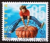 """Suisse 2004:""""Alimentation Et Activité""""  Zu 1136 Mi 1892 Yv 1817 ET-o BERN 7.9.04 (faciale -50%) - Alimentation"""