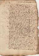 Document Manuscrit Ancien De 1575  En 4 Pages - Manuscrits