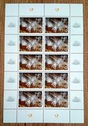SALE!!! Eslovenia Slovenia Slovenie Slowenien 2007 Minerals Sheetlet Of 10 Stamps MiNr634 MNH ** - Slovenia