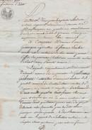 FRANCE 1810  PAPIER AVEC TIMBRE DE DIMENSION - Revenue Stamps