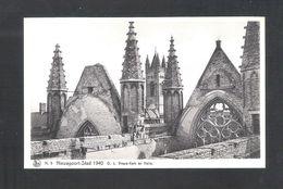 NIEUWPOORT - STAD 1940 - O.L. VROUW-KERK EN HALLE  - NELS  (6821) - Nieuwpoort