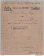 81 1017 LACAUNE LES BAINS TARN 1911 Atelier De Forge Et Marechalerie JACQUES BONNET - France