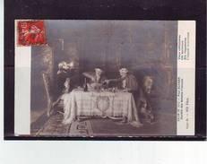 FANTAISIES . PEINTURES TABLEAUX . SALON DE 1912. VIEUX CELIBATAIRES Par PAUL SCHAAN . - Pittura & Quadri