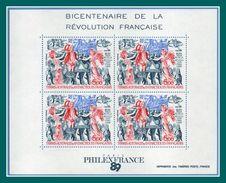 TAAF Bloc BF N° 1 ** ( Cote 12,50 E, Face Value Faciale 3 E) Révolution Voilier Pinguoin - Blocks & Kleinbögen