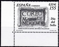 2001, Spanien, 3613, Tag Der Briefmarke. MNH ** - 1931-Today: 2nd Rep - ... Juan Carlos I