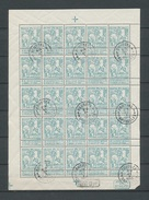 F86** - MNH & Gestempeld / MNH & Oblitéré - OBP/COB 210 € - 1910-1911 Caritas