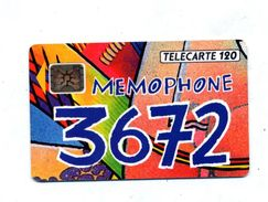 Carte 120 Memophone - France