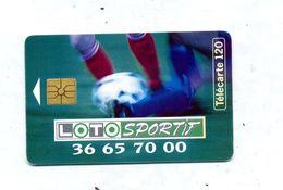 Carte 120 Loto Sportif Football - France