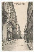63 - Clermont Ferrand Rue Neuve Commerce Au Petit Paris Et Crémieux Ed A Olliergues - Clermont Ferrand