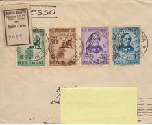 Regno Storia Postale - 150° Anniversario Della Nascita Di G. Rossini, La Serie Completa Di 4 Valori Per Raccomandata - 1900-44 Vittorio Emanuele III