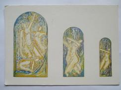 """Galerie Krief  Paris Alain Pouillet """" Le Concile D'Amour """"   """" 3 Grâces -2 Grâces-1 Maigre """"  Vernissage Juin 1988 - Arts"""