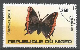 Niger 1983. Scott #646 (U) Charesex Jasius, Butterfly, Papillon - Niger (1960-...)
