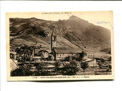 CP - SAINT DALMAS VALDEBLORE (06)  L EGLISE - Autres Communes