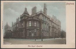 The Royal Hospital, Sheffield, Yorkshire, C.1905-10 - Beswick Postcard - Sheffield