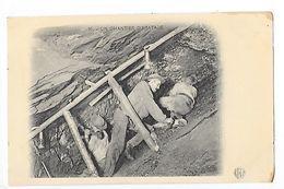MINES Et MINEURS - Un Chantier D'Abatage -   - L 1 - Mines