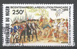 Niger 1989. Scott #802 (U) French Revolution Bicent. Révolution Française - Niger (1960-...)