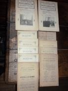 Lot De 11 Bulletins De La Société D'agriculture De L'arrondissement De Boulogne Sur Mer - Livres, BD, Revues