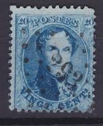 N° 15 A BDF Position 12 De La Planche LP 293 Peruwelz Coba +4.00 - 1863-1864 Médaillons (13/16)