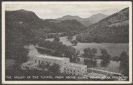 Clunie Power Station, Pitlochry, Perthshire, C.1950s - J B White Postcard - Perthshire