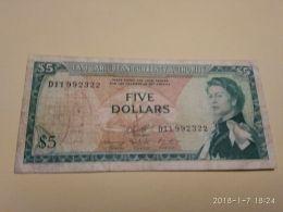 5 Dollari 1965 - Caraibi Orientale