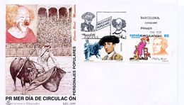 SPAIN  - 1997 Personalities  FDC3083 - FDC