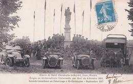 Carte 1920 OEUVRE DE SAINT CHRISTOPHE LE JAJOLET / SOLDATS CANADIENS EN PELERINAGE-SEPTEMBRE 1917 - Autres Communes