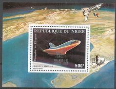 Niger 1985. Scott #C356 (M) Space Conquest - Niger (1960-...)