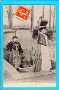 Cpa Carte  Postale Ancienne - Dax Porteuse D Eau - Dax
