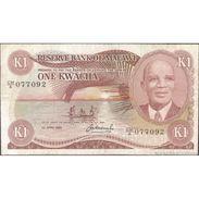 TWN - MALAWI 14g - 1 Kwacha 1.1.1984 CM/A 077092 F/VF - Malawi