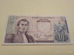 10 Peso Oro 1980 - Colombie