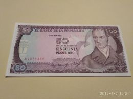 50 Peso Oro 1985 - Colombie