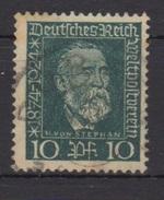 Deutsches Reich / 50 Jahre Weltpostverein /  MiNr.: 368 - Gebruikt
