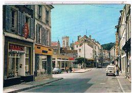 77  LA  FERTE  SOUS  JOUARRE  RUE  DES PELLETIERS   +  SIMCA  ARONDE  + TABAC   CPM  TBE   1V388 - La Ferte Sous Jouarre