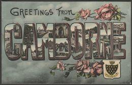 Greetings From Camborne, Cornwall, 1907 - Milton Glazette Postcard - England