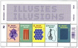 Belg. 2014 - COB N° 221 ** - Illusions D' Optique (timbres 4462 à 4466) - Ongebruikt