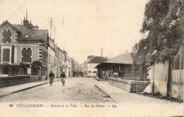 77 COULOMMIERS  Entrée De La Ville  Rue De Melun - Coulommiers