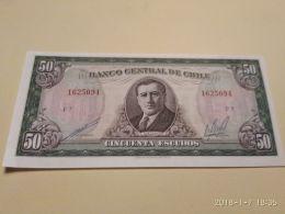 50 Escudos 1964 - Cile