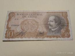 10 Escudos 1976 - Chili