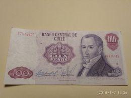100 Escudos 1981 - Cile
